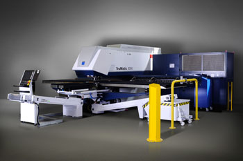 TRUMPF Trumatic 3000 punch-laser combined machine