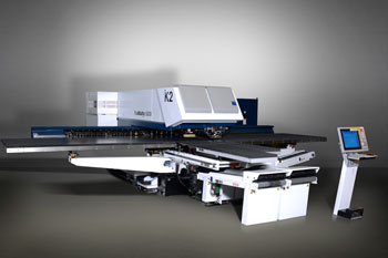 TRUMPF Trumatic 6000 punch-laser combined machine