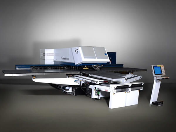 TRUMPF Trumatic 6000 combined punch-laser machine