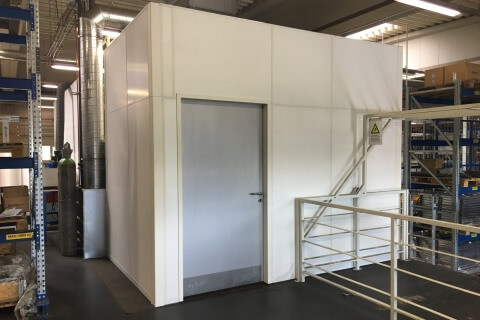 New welding workstations at the sheet metal fabricator in Biatorbágy