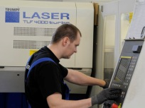 Punch-laser operator job