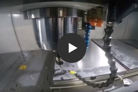 CNC drilling of sheet metal parts